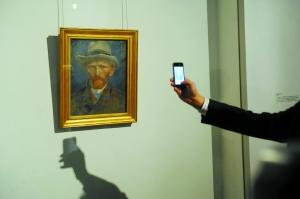 凡·高《自画像》首次来华展出